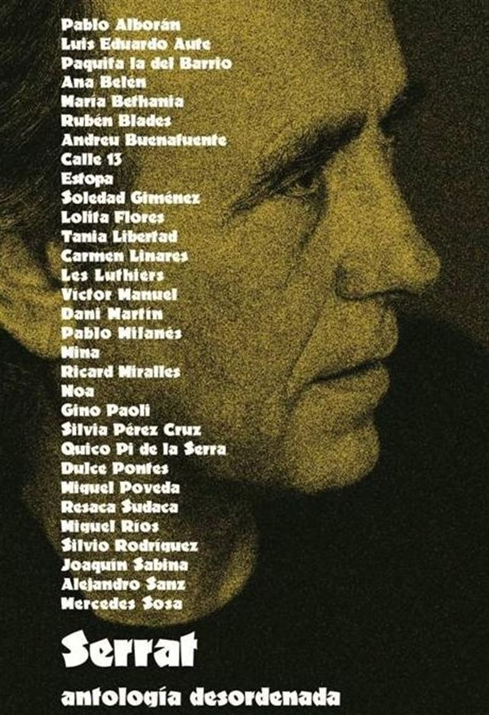 Caratula 50 años Serrat