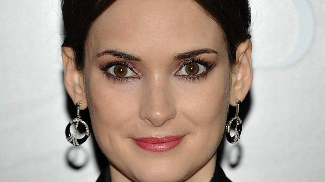 Close up Winona Ryder