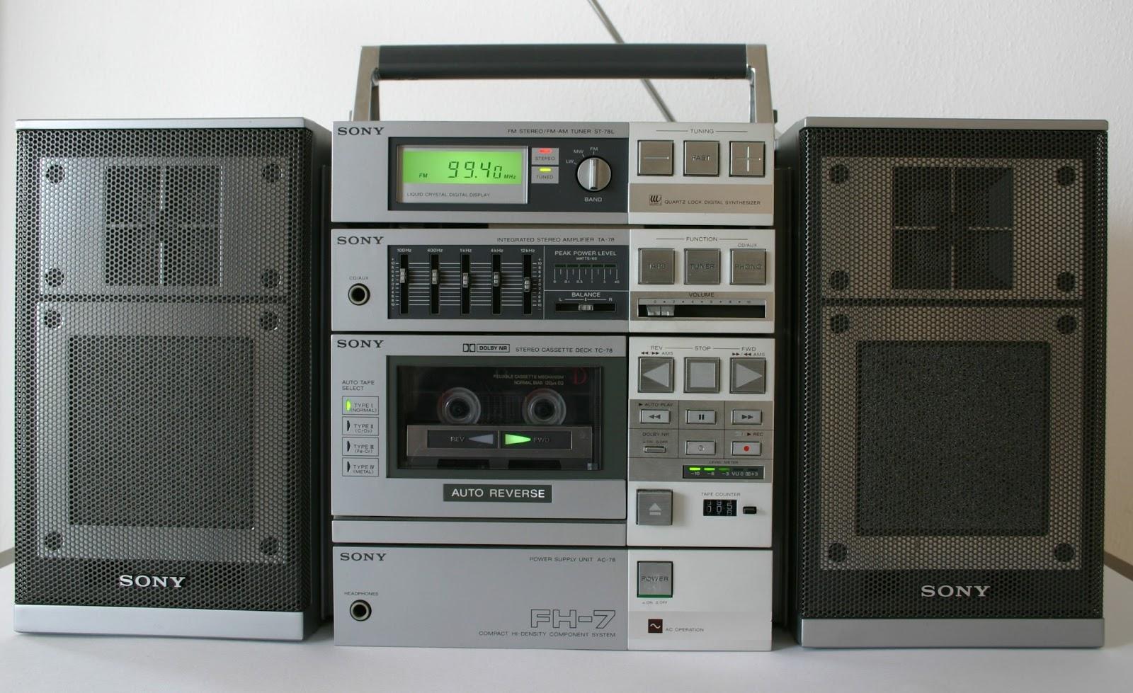 minicomponente 1983
