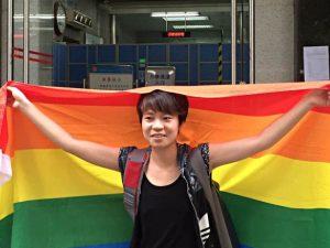 la estudiante chen-qiuyan