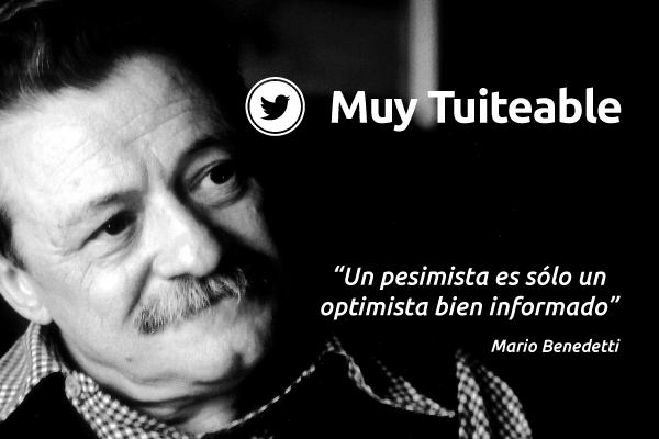 Mario Benedetti En 10 De Sus Mejores Frases Muy Tuiteables