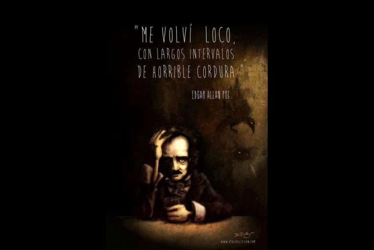 Edgar Allan Poe El Genio Del Terror 10 Celebres Frases A
