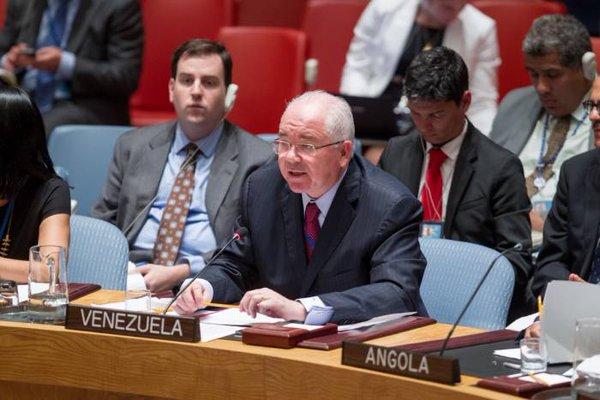 Resultado de imagen para ONU venezuela rafael ramirez