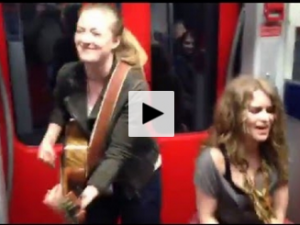 cantantes del metro