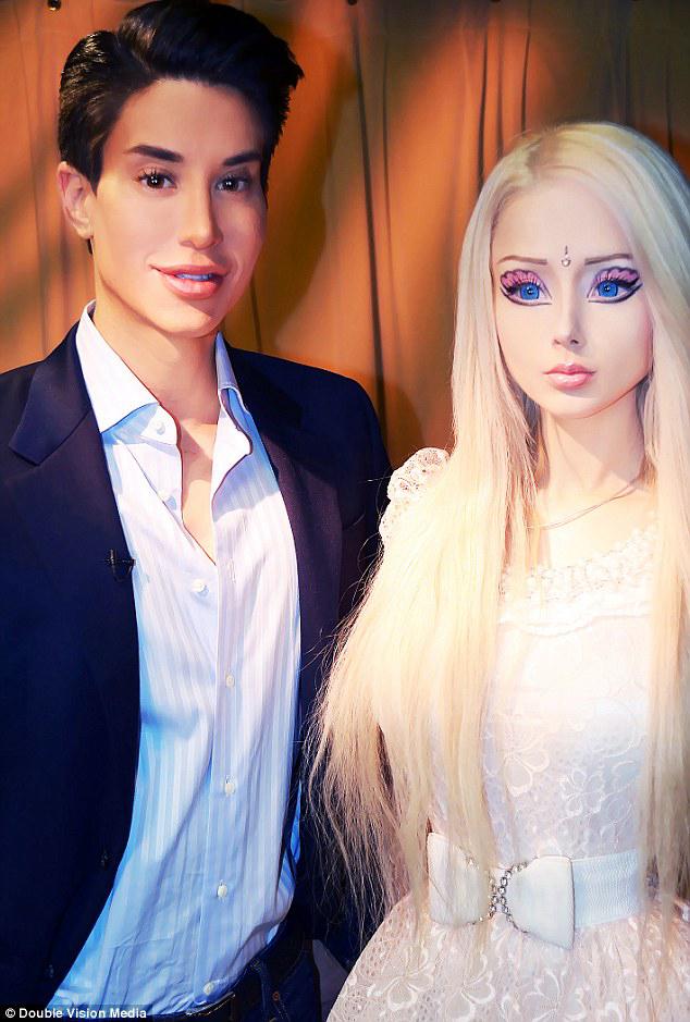 """Ken y Barbie """"humanos"""""""